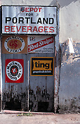 Port Antonio - signage and texture