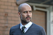 Manchester City Manager Pep Guardiola during the Premier League match between Burnley and Manchester City at Turf Moor, Burnley, England on 26 November 2016. Photo by Pete Burns.