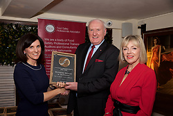 Waterford Institute of Technology, Dept of Languages Tourism & Hospitality<br /> 1.Eibhlin O'Leary. Training & Compliance Manager, Food Safety Authority of Ireland<br /> 2.David Power, FSPA, collecting on behalf of WIT<br /> 3.Mary Daly. Chairperson, FSPA