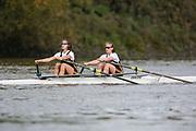 Crew: 62 - Varley / Kitchen - Emanuel School Boat Club - W Junior 2x <br /> <br /> Pairs Head 2020