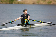 Crew: 189  FAL-GARDEN  Falcon Rowing Club  Op J14 1x<br /> <br /> Abingdon Spring Head 2019<br /> <br /> To purchase this photo, or to see pricing information for Prints and Downloads, click the blue 'Add to Cart' button at the top-right of the page.