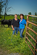 Editorial photography of Cynthia Coughlin at her ranch in Bentonville, Arkansas, for a magazine feature.