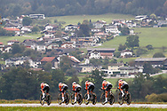 Team Boels Dolman during the 2018 UCI Road World Championships, Women's Team Time Trial cycling race on September 23, 2018 in Innsbruck, Austria - Photo Luca Bettini / BettiniPhoto / ProSportsImages / DPPI