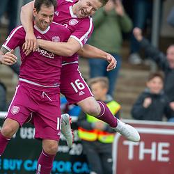 Arbroath v Dumbarton, Scottish Football League Division One.
