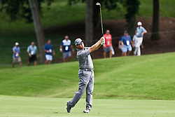 August 10, 2017 - Charlotte, North Carolina, United States - D.A. Points hits a fairway shot on the 18th hole during the first round of the 99th PGA Championship at Quail Hollow Club. (Credit Image: © Debby Wong via ZUMA Wire)