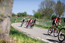 Riders descend during the Amstel Gold Race - Ladies Edition - a 126.8 km road race, between Maastricht and Valkenburg on April 21, 2019, in Limburg, Netherlands. (Photo by Balint Hamvas/Velofocus.com)