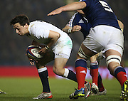 James Mitchell (Sale Sharks) during the 2015 Under 20s 6 Nations match between England and France at the American Express Community Stadium, Brighton and Hove, England on 20 March 2015.