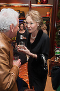 NICKY HASLAM; LADY GETTY, Book launch for ' Daughter of Empire - Life as a Mountbatten' by Lady Pamela Hicks. Ralph Lauren, 1 New Bond St. London. 12 November 2012.