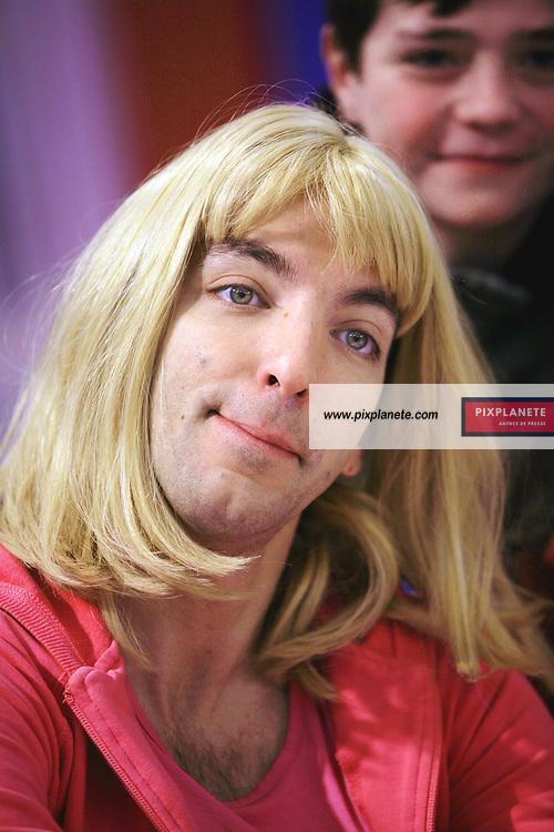 David Strajmayster dit Doudi , acteur principal de la série Samantha Oups , - Paris, Salon du Livre - 24/03/2007 - JSB / PixPlanete