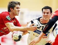 Håndball, 28. mars 2012 , Eliteserien herrer , Haslum - Elverum<br /> Steffen Stegavik , Elverum<br /> Einar Koren , Haslum