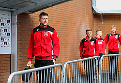 Bristol City players arrive at Turf Moor - Mandatory by-line: Matt McNulty/JMP - 28/01/2017 - FOOTBALL - Turf Moor - Burnley, England - Burnley v Bristol City - Emirates FA Cup fourth round