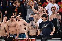 Tifosi Sparta Praga Supporters <br /> Roma 17-03-2016 Stadio Olimpico Football Europa League Round of 16 second leg 2015/2016 Lazio - Sparta Praha. Foto Andrea Staccioli / Insidefoto