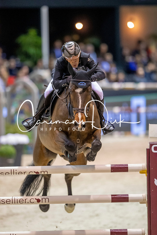 Robert Olivier, FRA, Vivaldi Des Meneaux<br /> Jumping International de Bordeaux 2020<br /> © Hippo Foto - Dirk Caremans<br />  08/02/2020