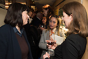 BELINDA HARLEY; SAM PEPPER; VICTORIA FIELD, Launch of The Happy Kitchen: Good Mood Food, by Rachel Kelly and Alice Mackintosh. Squirrel, South Kensington. London. 31 January 2017
