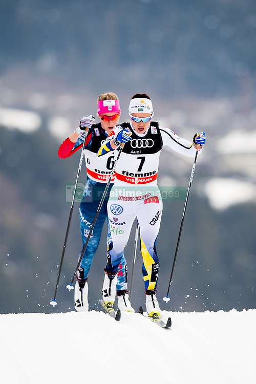 January 6, 2018 - Val Di Fiemme, ITALY - 180106 Anna Haag of Sweden competes in women's 10km mass start classic technique during Tour de Ski on January 6, 2018 in Val di Fiemme..Photo: Jon Olav Nesvold / BILDBYRN / kod JE / 160122 (Credit Image: © Jon Olav Nesvold/Bildbyran via ZUMA Wire)