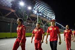 September 19, 2019, Singapore, Singapore: Motorsports: FIA Formula One World Championship 2019, Grand Prix of Singapore, .#16 Charles Leclerc (MCO, Scuderia Ferrari Mission Winnow) (Credit Image: © Hoch Zwei via ZUMA Wire)