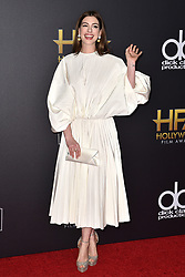 Anne Hathaway attends the 22nd Annual Hollywood Film Awards on November 4, 2018 in Los Angeles, CA, USA. Photo by Lionel Hahn/ABACAPRESS.COM