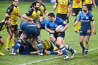 Gregory Marmoiton - 03.01.2015 - Castres / La Rochelle - 15eme journee de Top 14 - <br />Photo : Laurent Frezouls / Icon Sport