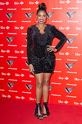 © Licensed to London News Pictures. 03/01/2019. London, UK. JENNIFER HUDSON attends the Launch of The Voice UK 2019 ITV press launch. Photo credit: Ray Tang/LNP