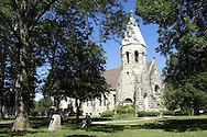 Main Post Chapel at Fort Riley, Kansas.