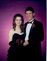 1989 Ocean View High School dance photo