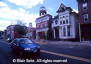 PA Historic Places, Union Church and Washington Fire Station, Mechanicsburg, PA