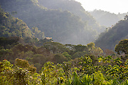 Valley adjacent to the Alto Madre de Dios River, Manu National Park, Peru, South America