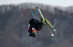 Norway's Felix Stridsberg-Usterud in action during the qualification runs of the Men's Ski Slopestyle at the Bogwang Snow Park during day nine of the PyeongChang 2018 Winter Olympic Games in South Korea. PRESS ASSOCIATION Photo. Picture date: Sunday February 18, 2018. See PA story OLYMPICS Slopestyle. Photo credit should read: Mike Egerton/PA Wire. RESTRICTIONS: Editorial use only. No commercial use.