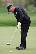 Damien McGrane putts on the first hole of the 3rd round in the Open de Espana in Madrid..Photo NEWSFILE/Eoin Clarke.(Photo credit should read Eoin Clarke/NEWSFILE)....This Picture has been sent you under the condtions enclosed by:.Newsfile Ltd..The Studio,.Millmount Abbey,.Drogheda,.Co Meath..Ireland..Tel: +353(0)41-9871240.Fax: +353(0)41-9871260.GSM: +353(0)86-2500958.email: pictures@newsfile.ie.www.newsfile.ie.FTP: 193.120.102.198..