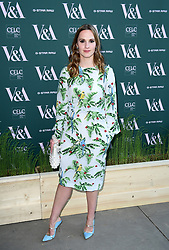 Ruth Bradley attending the VIP preview for the V&A Museum's Fashioned From Nature exhibition, in London. Picture date: Wednesday April 18, 2018. Photo credit should read: Ian West/PA Wire