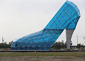 High-heel-shaped Church