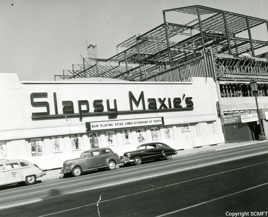 1945 Slapsy Maxie's nightclub on Wilshire Blvd.