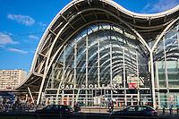 France, Region Centre-Val de Loire, Loiret (45), Orléans, la gare SNCF // France, Loiret, Orleans, railway station
