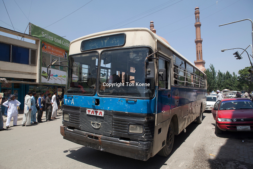 public transport in Kabul.
