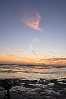 Sunshine Skyway Bridge at Dawn from Fort De Soto Park. 8 of 11 images taken with a Leica CL camera and 23 mm f/2 lens (ISO 1600, 23 mm, f/16, 1/60 sec). Raw images processed with Capture One Pro and AutoPano Giga Pro.