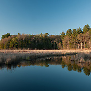 The Ipswich River in Topsfield where it winds through a 2000 acre sanctuary managed by Mass Audubon.