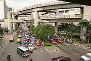 Thailand, Bangkok, busy street
