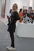 PRINCESS ELISABETH VON THURN UND TAXIS, The VIP preview of Frieze. Regent's Park. London. 16 October 2013