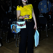 Kisin-K attend The British luxury Womenswear designer, Chanel Joan Elkayam, showcases her Autumn - Winter 2020 show ahead of London Fashion Week on 13 February 2020 at Cecil Sharp House, London, UK.