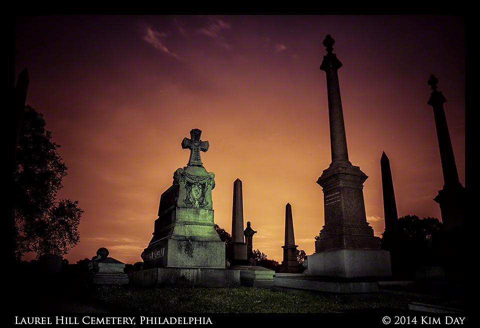 Monument Sentries<br /> Laurel Hill Cemetry - Philadelphia<br /> July 2014