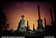 Monument Sentries<br /> Laurel Hill Cemetry - Philadelphia<br /> July 2014
