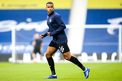 Kevin Lokko of Harrogate Town - Mandatory by-line: Robbie Stephenson/JMP - 16/09/2020 - FOOTBALL - The Hawthorns - West Bromwich, England - West Bromwich Albion v Harrogate Town - Carabao Cup