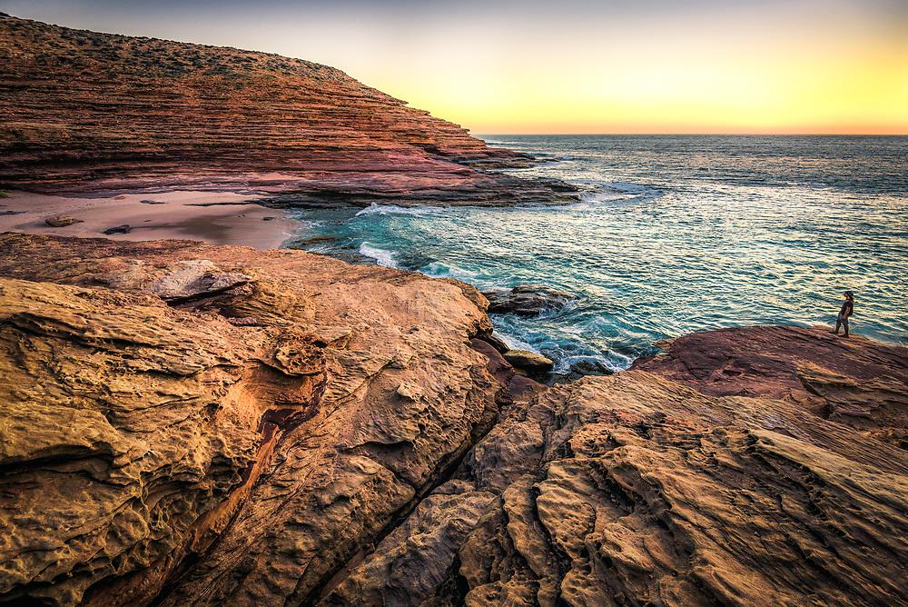 Sunset at Pot Alley, Kalbarri National Park, Western Australia