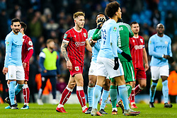 Josh Brownhill of Bristol City looks frustrated after Manchester City win 2-1 in added time - Rogan/JMP - 09/01/2018 - Etihad Stadium - Manchester, England - Manchester City v Bristol City - Carabao Cup Semi Final First Leg.