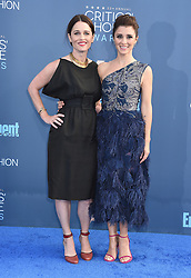 Celebrities arrive on the red carpet for the 22nd Annual Critics' Choice Awards held at Barker Hanger in Santa Monica. 11 Dec 2016 Pictured: Shiri Appleby, Robin Tunney. Photo credit: American Foto Features / MEGA TheMegaAgency.com +1 888 505 6342