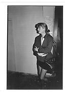 Suzannah Constantine. Katya Grenfell Book Launch. Crazy Larry's. 30/9/87© Copyright Photograph by Dafydd Jones 66 Stockwell Park Rd. London SW9 0DA Tel 020 7733 0108 www.dafjones.com