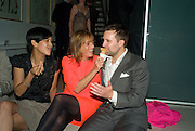 VIRGINIA RUSGTIQUE, LADY ROGERS AND FILIPPO PETENI,  These Foolish Things, charity evening hosted by Sir Richard and Lady Rogers. Chelsea. London. 7 May 2008.  *** Local Caption *** -DO NOT ARCHIVE-© Copyright Photograph by Dafydd Jones. 248 Clapham Rd. London SW9 0PZ. Tel 0207 820 0771. www.dafjones.com.