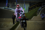 #1 (WILLOUGHBY Sam) AUS at the UCI BMX Supercross World Cup in Manchester, UK