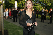 TARA PALMER-TOMPKINSON, The Summer Party in association with Swarovski. Co-Chairs: Zaha Hadid and Dennis Hopper, Serpentine Gallery. London. 11 July 2007. <br /> -DO NOT ARCHIVE-© Copyright Photograph by Dafydd Jones. 248 Clapham Rd. London SW9 0PZ. Tel 0207 820 0771. www.dafjones.com.