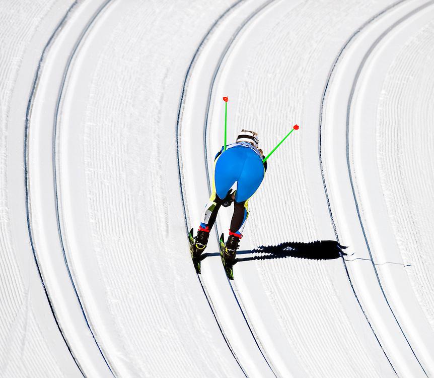 SERIE KJ<br /> <br /> Canada, Vancouver, 19-02-2010.<br /> Olympische Winterspelen.<br /> Ski, Cross Country, Vrouwen.<br /> 15 KM , 7,5 km klassiek en 7,5 km vrije stijl.<br /> Klassiek.<br /> Foto: Klaas Jan van der Weij